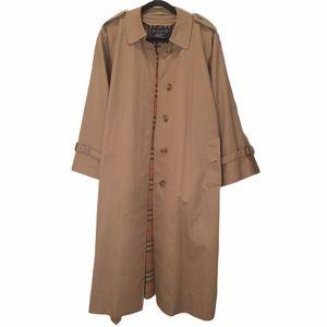Burberry Coat Nova Check Beige Wool Liner 14P